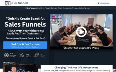 Click Funnel : Features, Review, Pricing